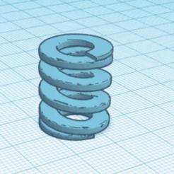 Download 3D printing files Metric Compression Springs, tinker3dmodel