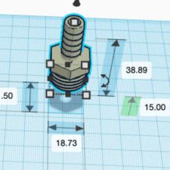 Download 3D printer files MixerTap Hose connector, tinker3dmodel