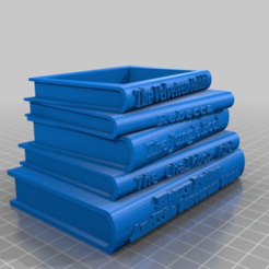 Download free STL file Shelley Book Planter • 3D printer template, peterpeter