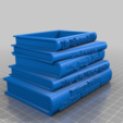 27034166fcee84f7c3aaf75c3d85450e.png Download free STL file Shelley Book Planter • 3D printer template, peterpeter