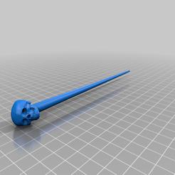 Descargar modelo 3D gratis Palillos para el cráneo, peterpeter
