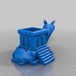 Descargar diseños 3D gratis Llama azteca, peterpeter