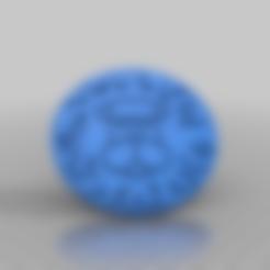 Imprimir en 3D gratis Leo Signo del Zodíaco Negativo, peterpeter