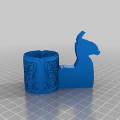 Descargar modelo 3D gratis Llama al estilo de Fortnite con el tazón azteca, peterpeter