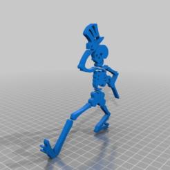 Descargar modelo 3D gratis Grateful Dead Dancing Skeleton Upright, peterpeter