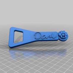 Descargar archivo 3D gratis Abridor de botellas de MU Dane Signature, peterpeter