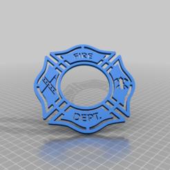 generic_fireman_shield.png Télécharger fichier STL gratuit Bouclier de pompier générique • Objet pour imprimante 3D, peterpeter