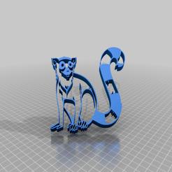 Imprimir en 3D gratis Lémur 2, peterpeter