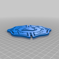 paola_fireman_shield.png Télécharger fichier STL gratuit Bouclier du pompier Paola • Design à imprimer en 3D, peterpeter