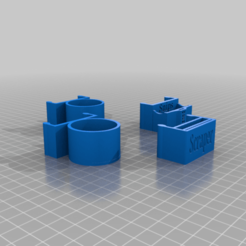 3LUJ4b3qkQU.png Download free STL file Ender 5 Four Tool Clips • 3D printable design, peterpeter