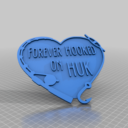 Download free STL file Forever Huk • 3D printing object, peterpeter