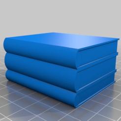Impresiones 3D gratis Múltiples libros básicos, peterpeter
