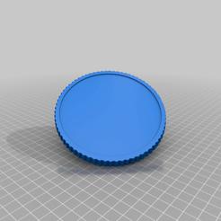 Descargar archivos 3D gratis Moneda en blanco con borde liso, peterpeter