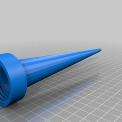 9DCEApsbTxR.png Download free STL file Waterer Main Tube w Slots • Object to 3D print, peterpeter