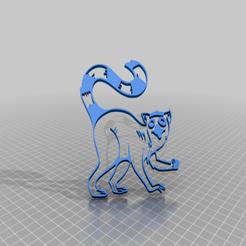 Descargar diseños 3D gratis Lémur 1, peterpeter