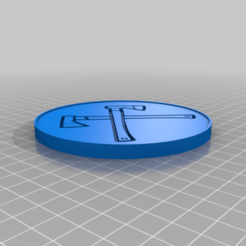 bHAqlqV8wAc.png Download free STL file Axe Coaster • Object to 3D print, peterpeter