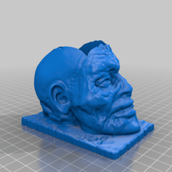 5pgFbHrRWYQ.png Download free STL file Clive the Zombie Planter • 3D printer object, peterpeter