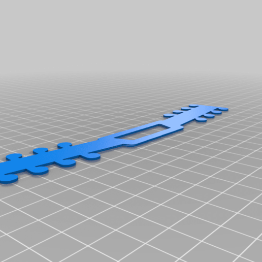 Download free STL file 1mm Basic Mask Strap • 3D printable model, peterpeter