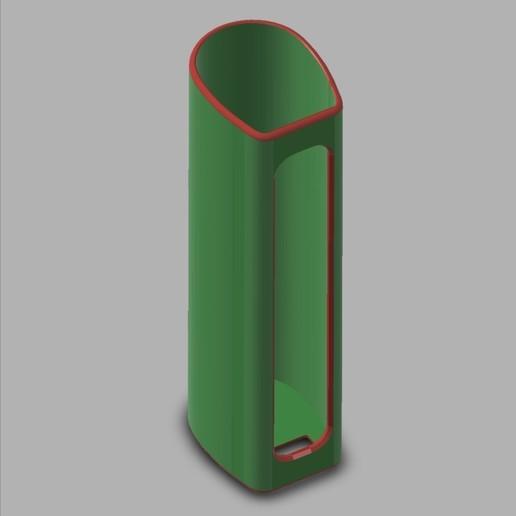 JUSTFOG_J-EASY_9_E-Cig_Cover_01[1].jpg Télécharger fichier STL gratuit JUSTFOG J-EASY 9 E-Cig Cover & Atomizer Protection • Modèle pour impression 3D, ea3dp