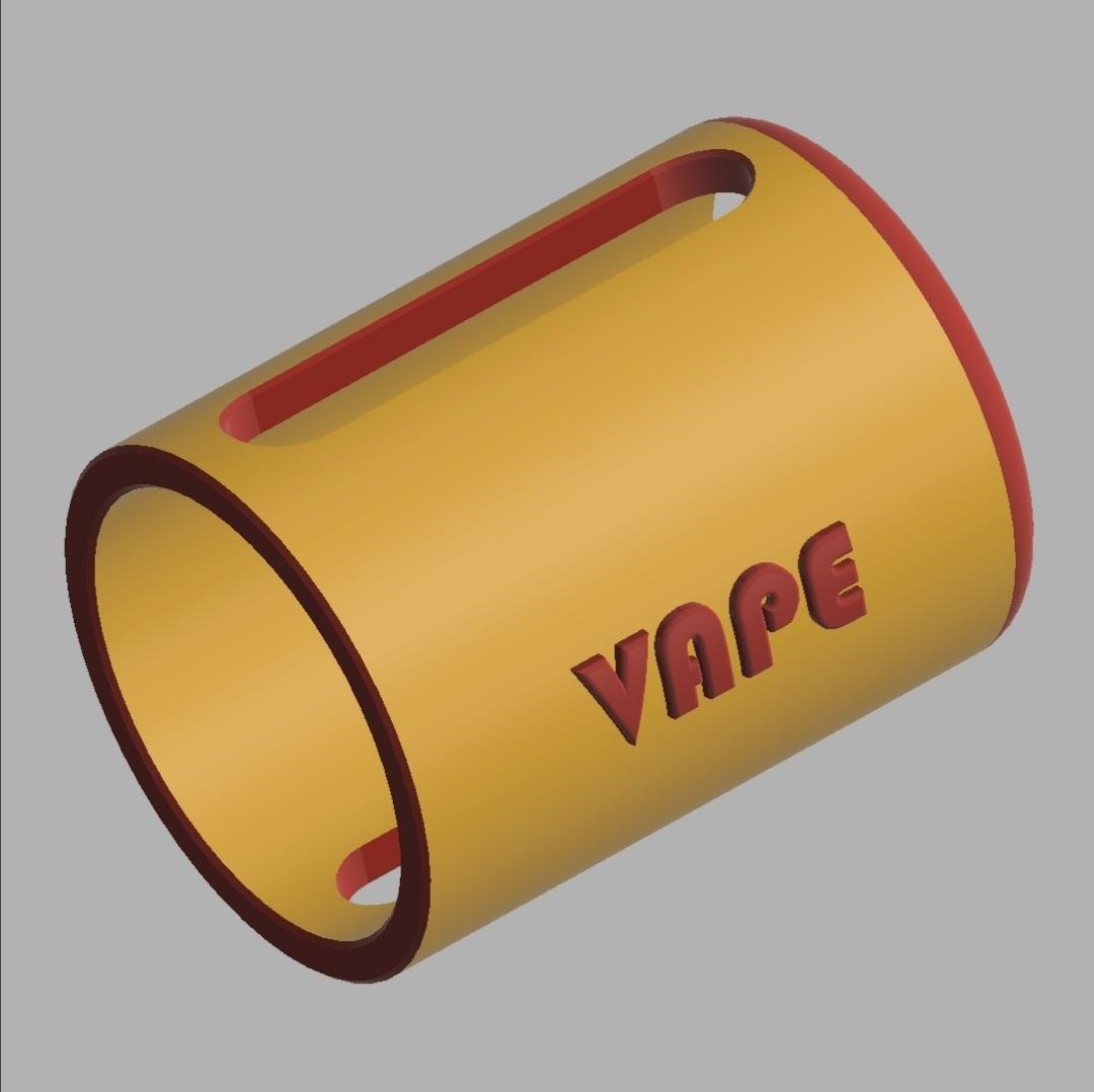 JUSTFOG_J-EASY_9_E-Cig_Atomizer_Protection_01[1].jpg Télécharger fichier STL gratuit JUSTFOG J-EASY 9 E-Cig Cover & Atomizer Protection • Modèle pour impression 3D, ea3dp