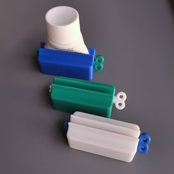 TOOTHPASTE_TUBE_SQUEEZER_10[1].jpg Télécharger fichier STL TUBE DE DENTIFRICE • Design imprimable en 3D, ea3dp