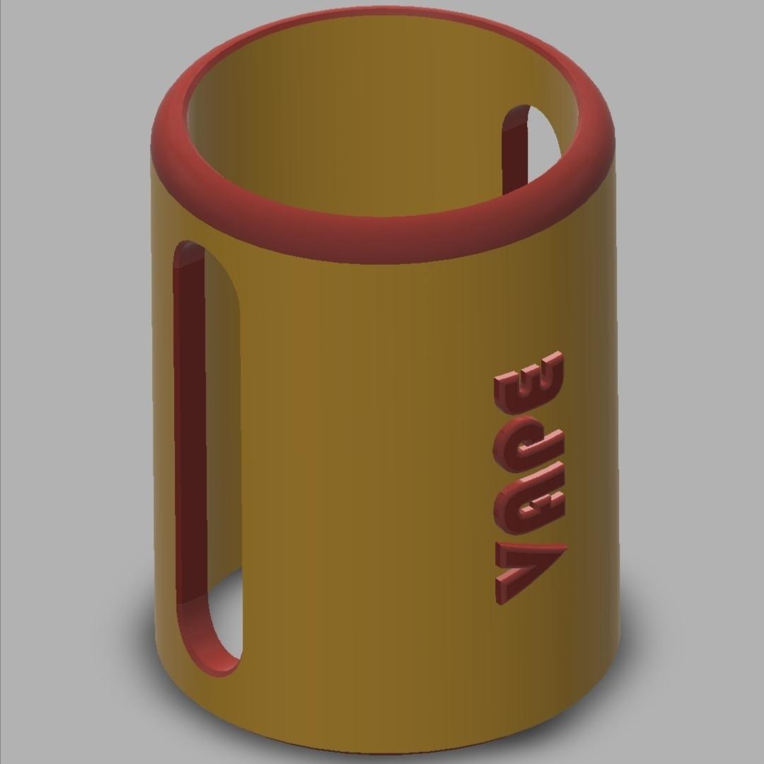 JUSTFOG_J-EASY_9_E-Cig_Atomizer_Protection_02[1].jpg Télécharger fichier STL gratuit JUSTFOG J-EASY 9 E-Cig Cover & Atomizer Protection • Modèle pour impression 3D, ea3dp