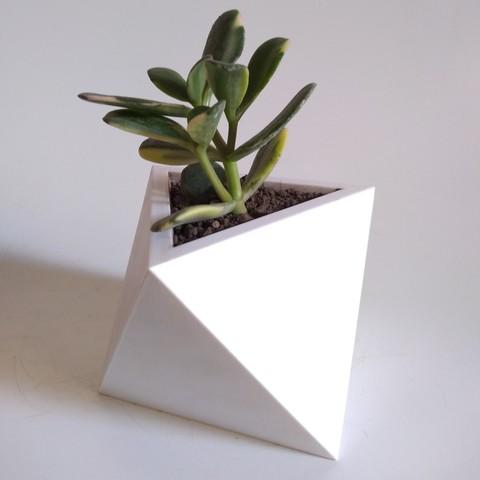 Download 3D printing designs Octahedron Planter (Harom Farkas), HaromFarkas