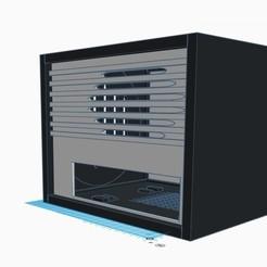 1.jpg Download STL file Portable Car radio Docking station 1.0 • 3D printer design, Dexmoto