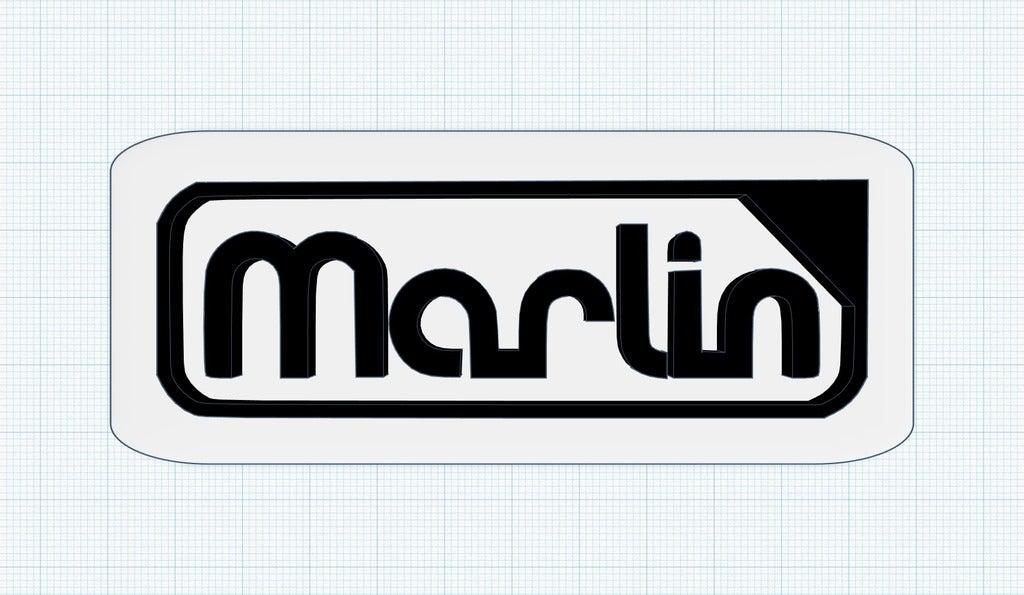 2.png Télécharger fichier STL gratuit Logo du microprogramme Marlin • Modèle pour imprimante 3D, isaac7437