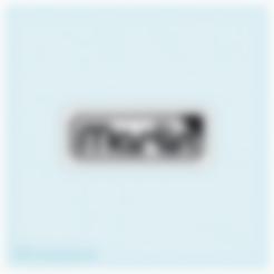 Marlin_Firmware_Logo.stl Télécharger fichier STL gratuit Logo du microprogramme Marlin • Modèle pour imprimante 3D, isaac7437