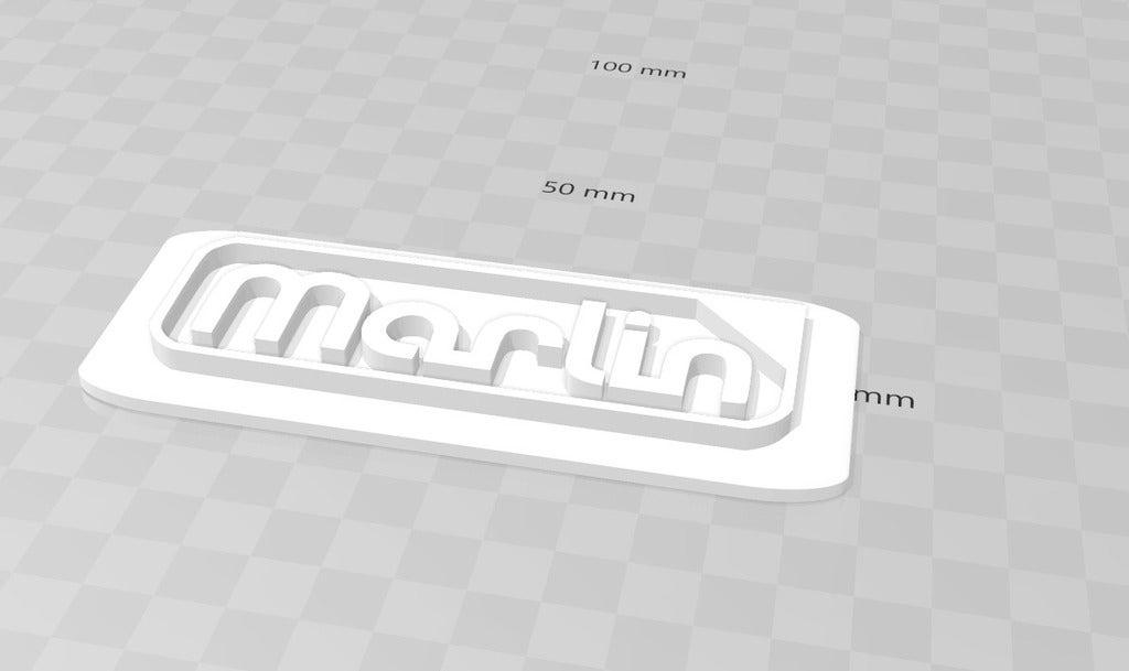 4.png Télécharger fichier STL gratuit Logo du microprogramme Marlin • Modèle pour imprimante 3D, isaac7437