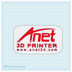 Download free STL file Anet Logo • 3D print design, isaac7437