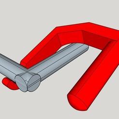 Descargar modelos 3D gratis para evitar tocar los cerrojos de las puertas, MAKECOEUR