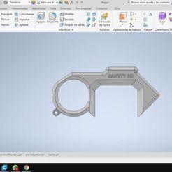Descargar modelos 3D para imprimir Gancho de uso de proteccion Covid 19 , Santty96jaque
