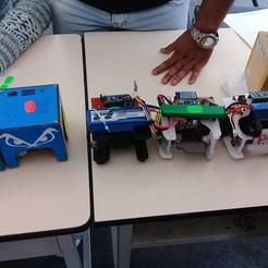 Download 3D model Robot Soccer - Pololu Engines, Santty96jaque