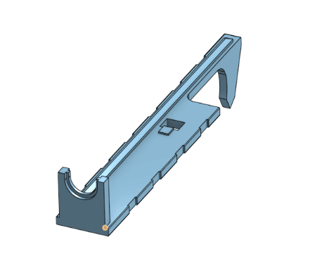ICS L85 Tappett Plate.png Download free STL file ICS L86 Replacement Parts  • 3D print object, ValorAirsoftSystems