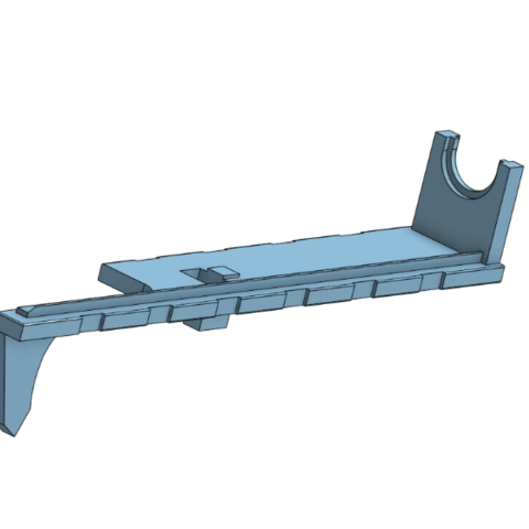ICS Tappett Plate.png Download free STL file ICS L86 Replacement Parts  • 3D print object, ValorAirsoftSystems