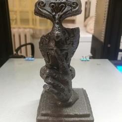 "Download 3D printing designs El silente ""Silent"" Sculpture, DevilmenCry"