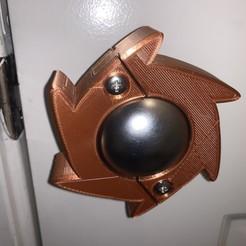 Descargar modelo 3D gratis Cubierta de la manija de la puerta (perillas redondas de EE.UU.), MakerGen3D