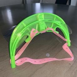 Descargar archivo 3D G3D Protector facial para la cama de letra pequeña (no se requieren agujeros), MakerGen3D
