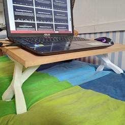 IMG_20200503_120720568.jpg Télécharger fichier OBJ Bed table - Table de lit - Mesa de cama 3D print model • Objet pour imprimante 3D, baudouinasus