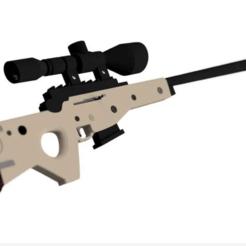 Descargar modelos 3D para imprimir 3D Printable Fortnite Bolt-Action Sniper Rifle, Gxstavo