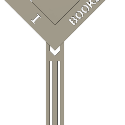 Download free 3D printing templates Bookmark, skein