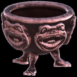 Cauldron.png Télécharger fichier 3MF gratuit Chaudron (Halloween) • Design pour impression 3D, Hic-Habitat-3D-Felicitas