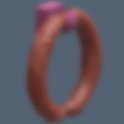 Download STL towel holder (Cocks Ring), Hic-Habitat-3D-Felicitas