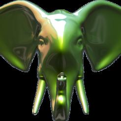 Face.png Télécharger fichier 3MF porte-serviettes • Design pour imprimante 3D, Hic-Habitat-3D-Felicitas