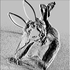 3D print files Bunny Easter Bonnet, Hic-Habitat-3D-Felicitas