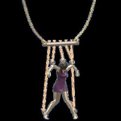 Puppets-with-cloths.png Download 3MF file Marionnette Puppet (woman) • 3D printing design, Hic-Habitat-3D-Felicitas