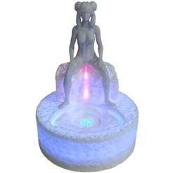 Download 3D printing templates Woman Fountain, Hic-Habitat-3D-Felicitas