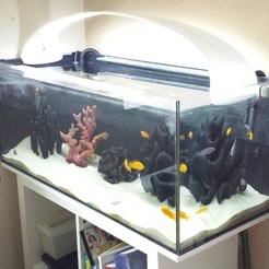 20180217_133238-1.jpg Descargar archivo STL Lámpara de acuario de 100 cm - para la tira de LED • Diseño para impresión en 3D, napalmjoey